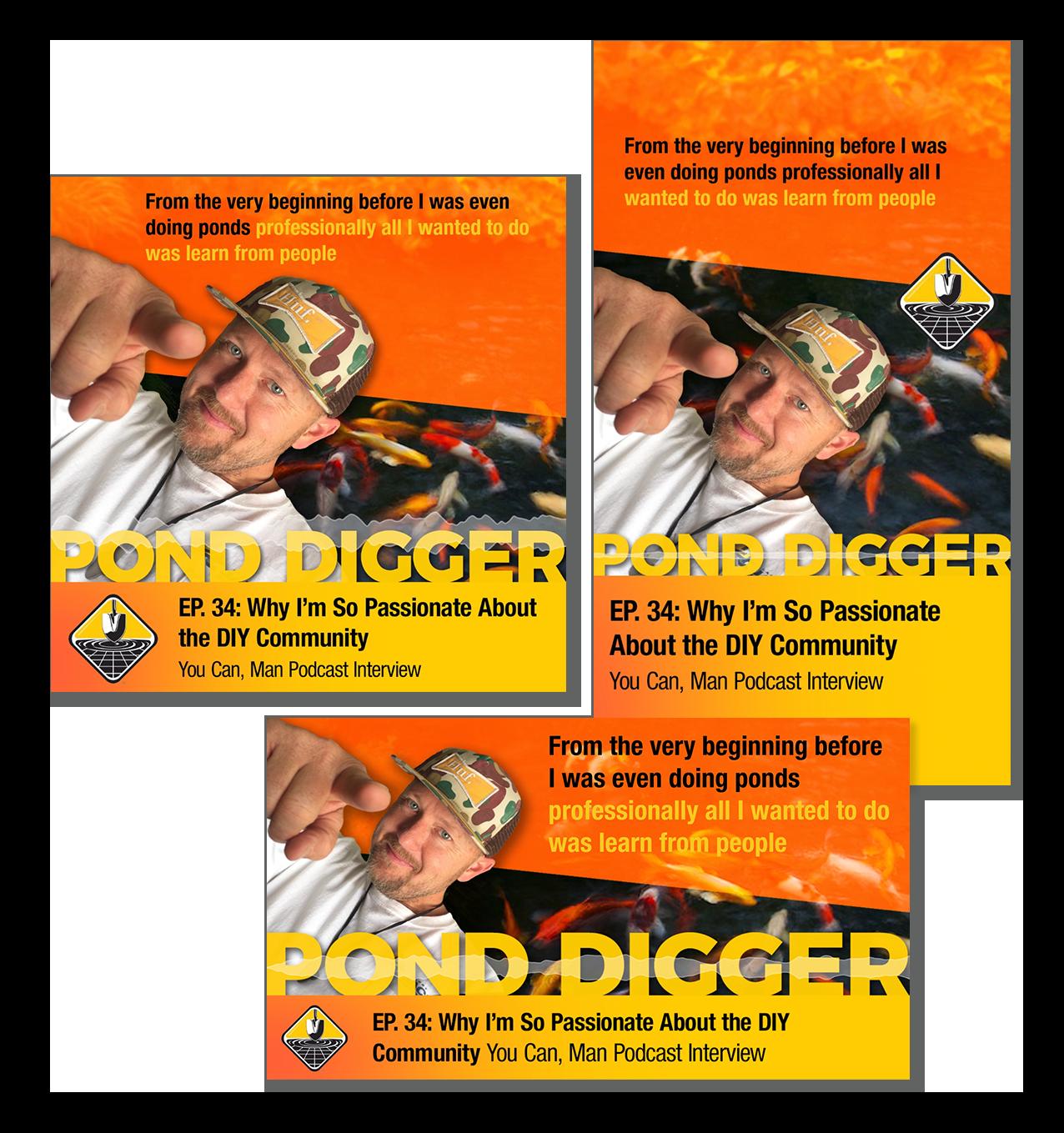 3 audiograms pond digger podcast